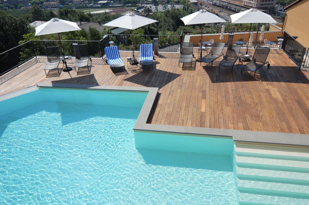 park hotel argento piscina