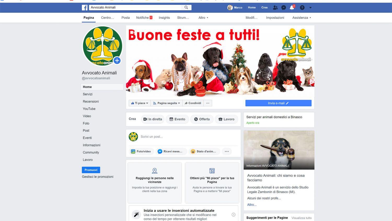 avvocato animali facebook