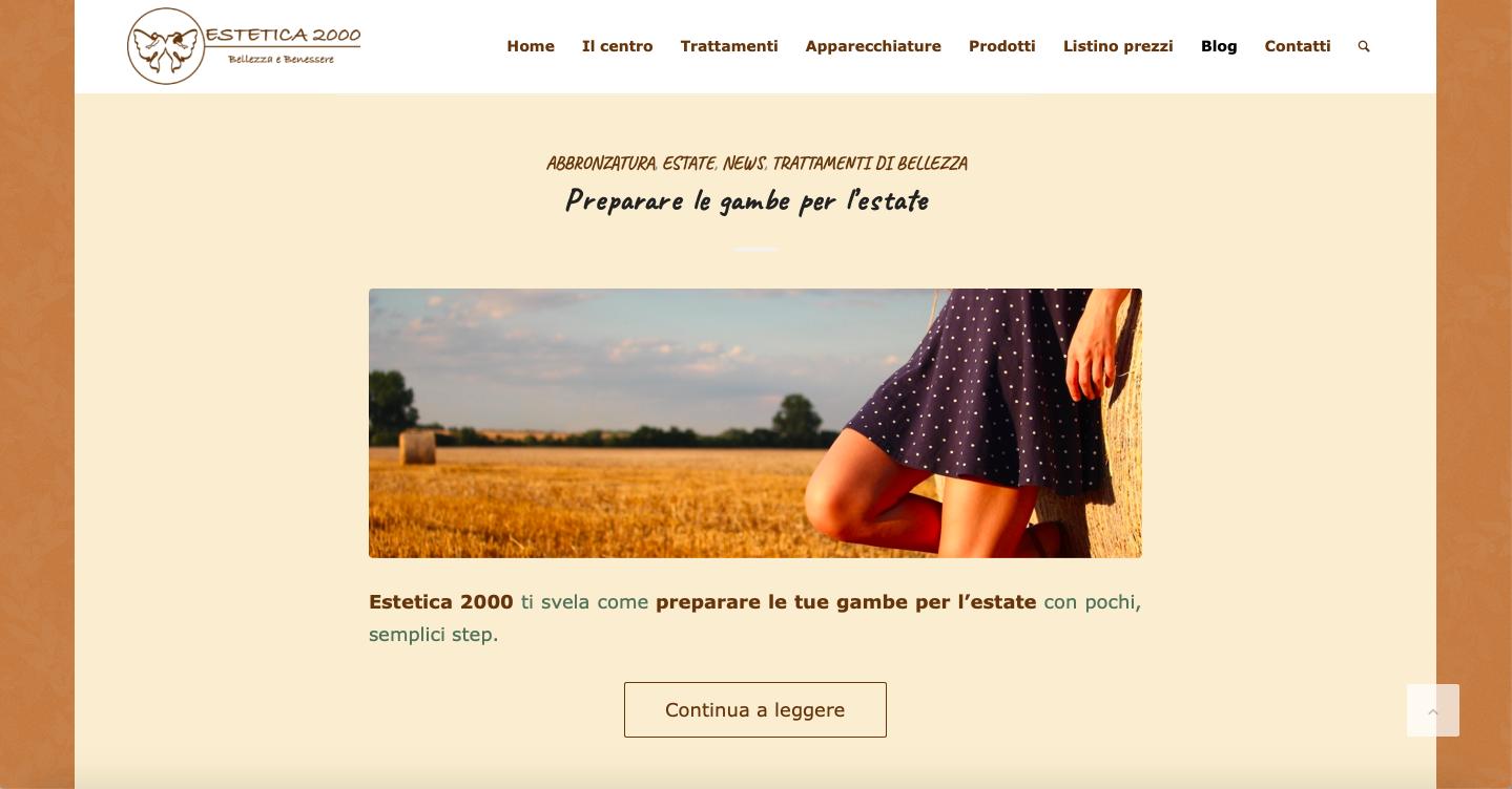 estetica 2000 pavia blog