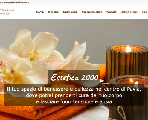 estetica 2000 pavia sito web