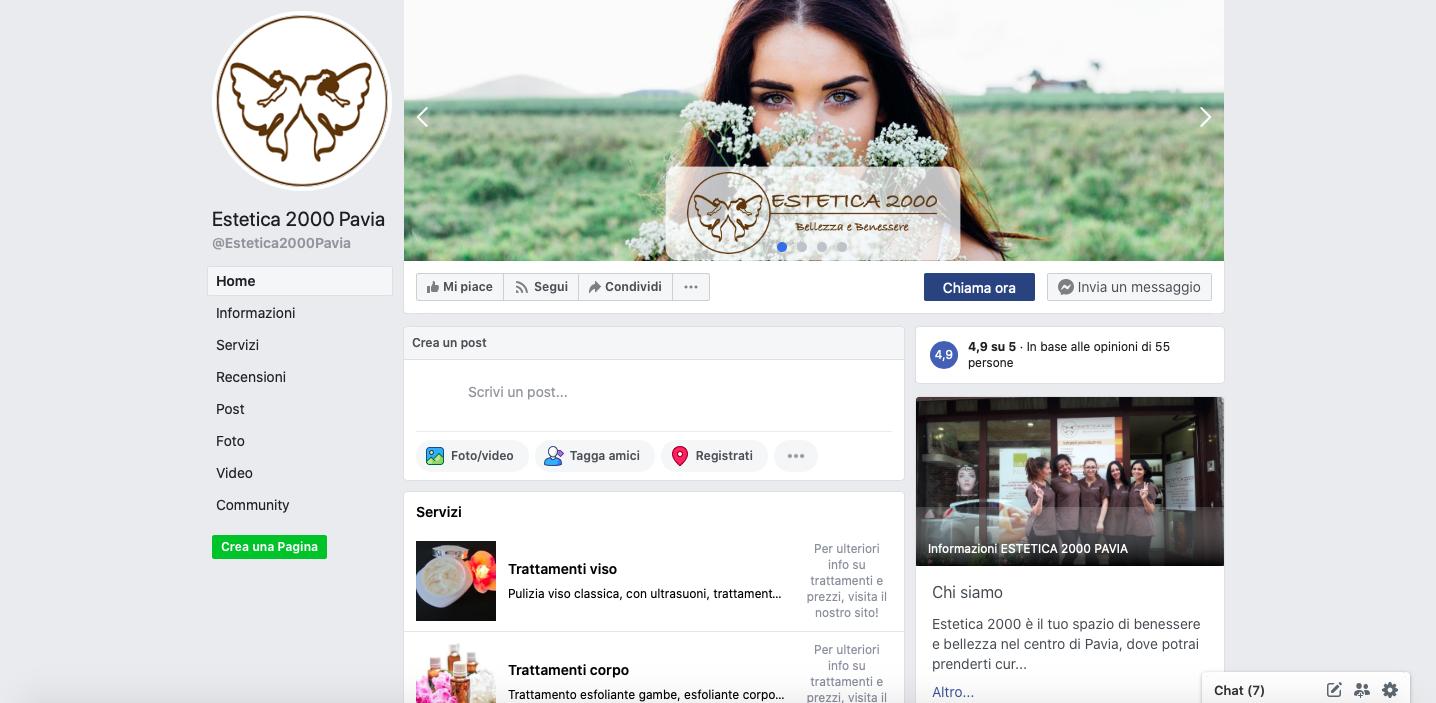 estetica 2000 facebook