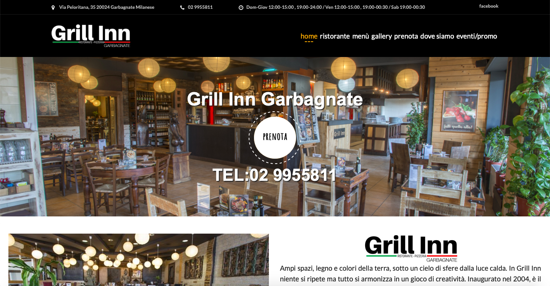 grill in garbagnate website