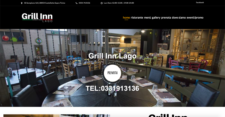 grill in lago website