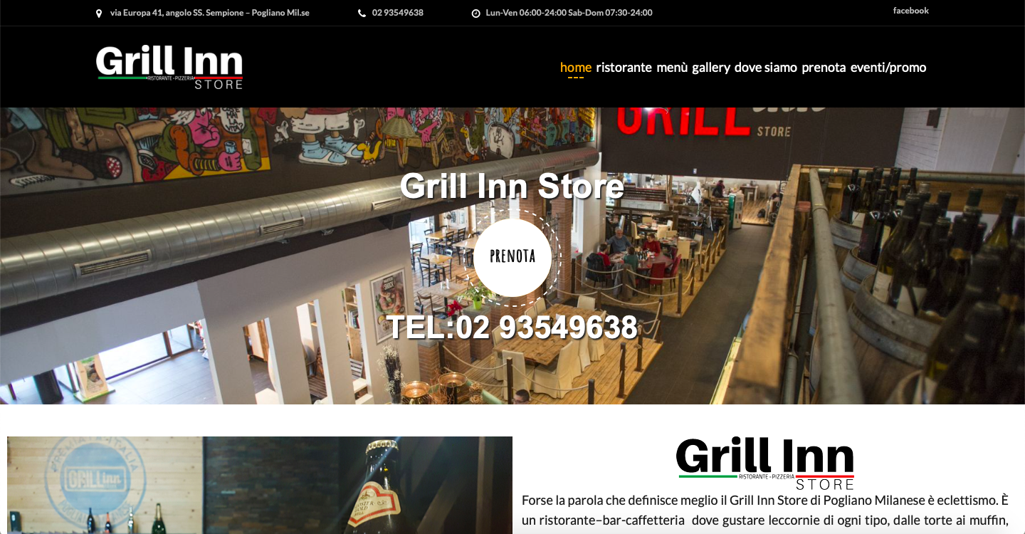grill in store website