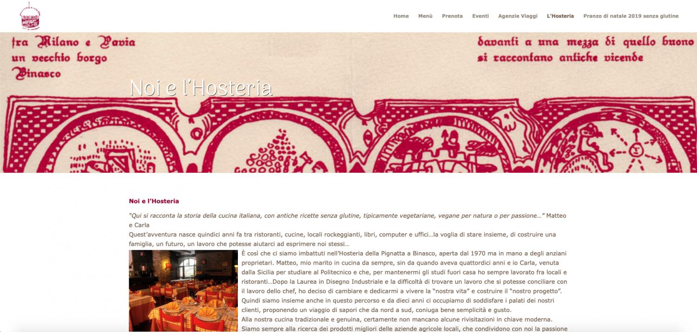 hosteria della pignatta website