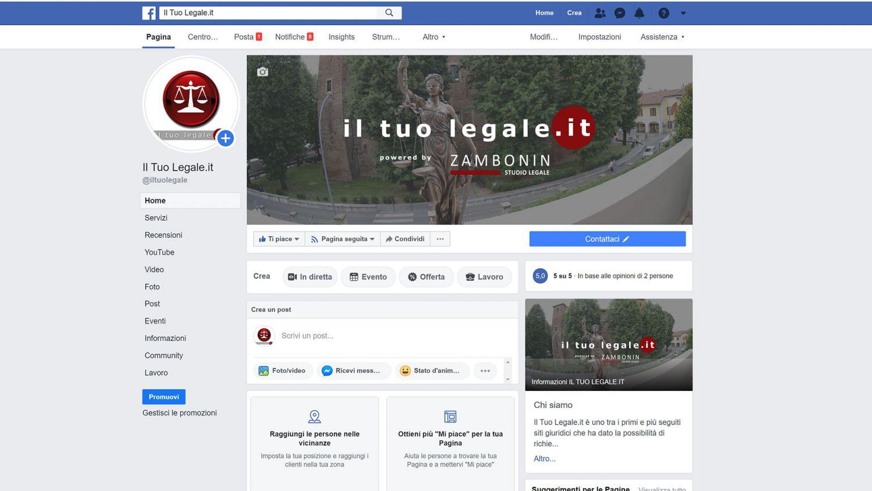 il tuo legale facebook