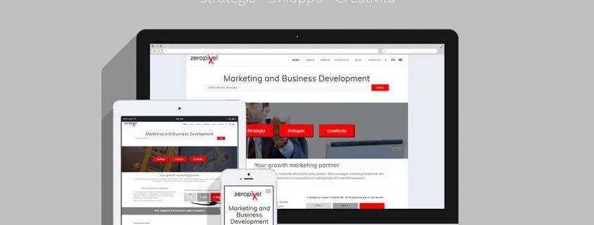 nuovo sito internet