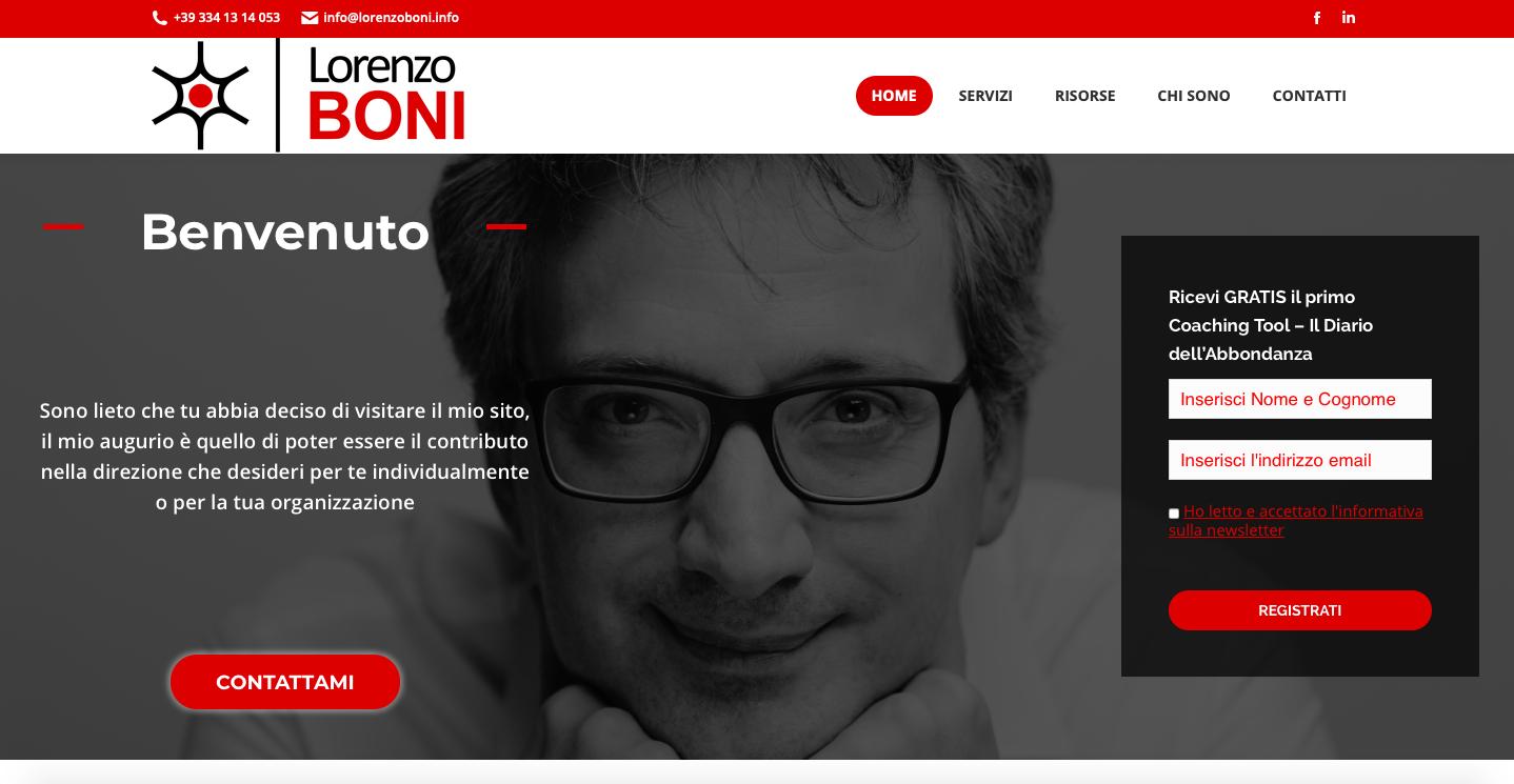 lorenzo boni sito web