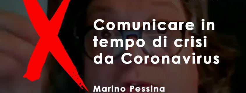 comunicare in tempo di crisi da coronavirus