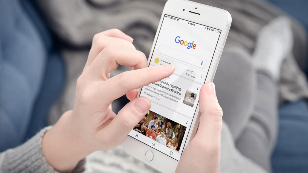 cercare su google
