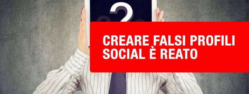 falsi profili social