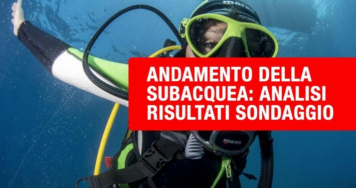 andamento della subacquea